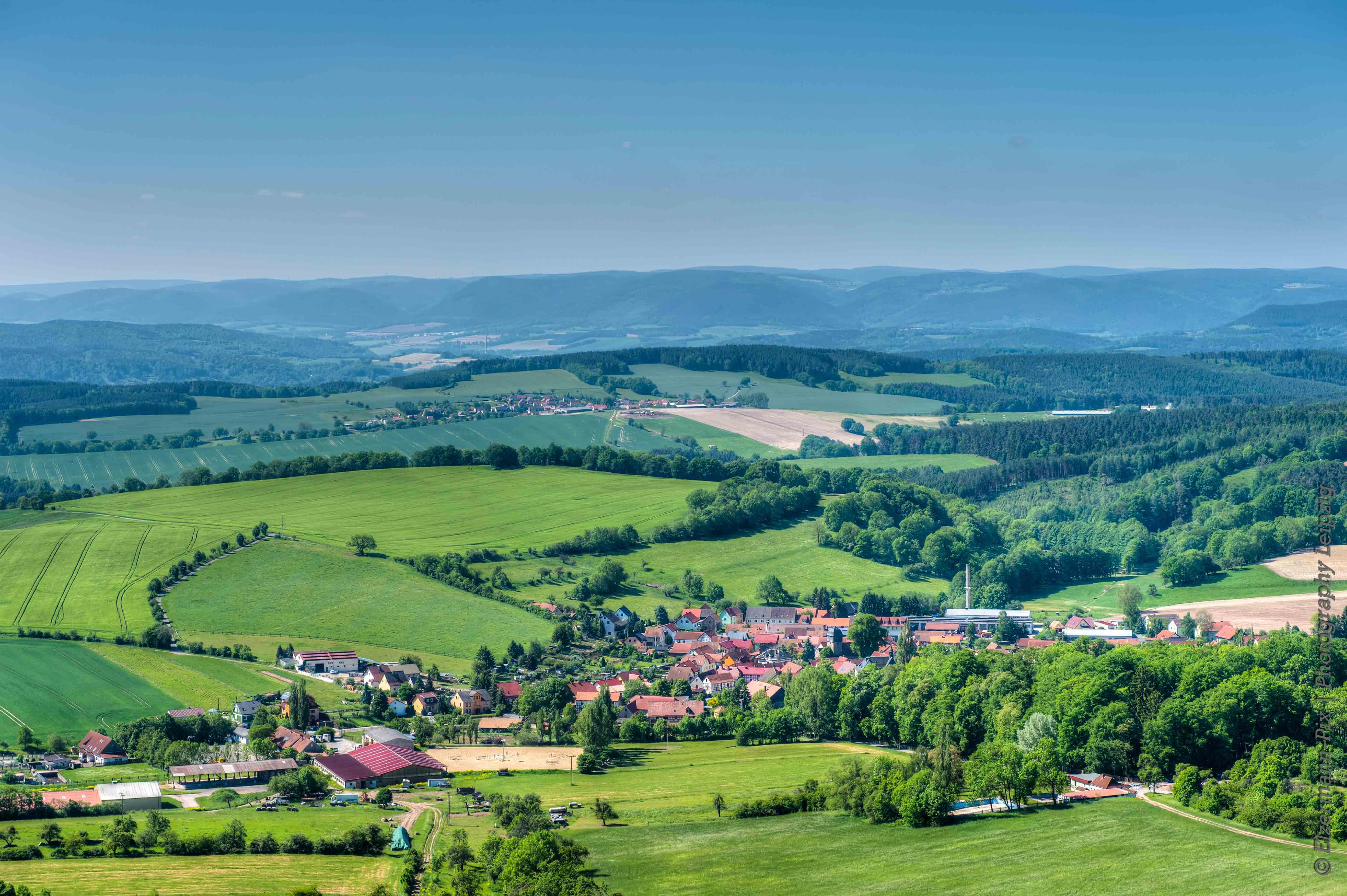 ... genießen die idyllische Natur Thüringens,